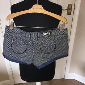 VINTAGE women's superdry shorts