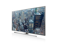 UHD 4K 3D - 48in Samsung - LED Smart TV Voice ctrl Freeview & Freesat HD