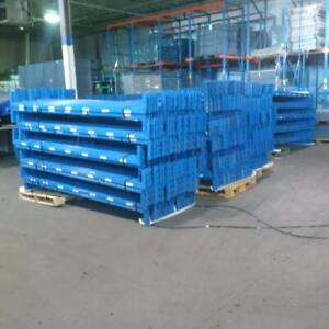 used redi rack pallet racking beams 8 x 2 on sale. Warehouse rack at great prices! Can be used as Heavy Duty shelving