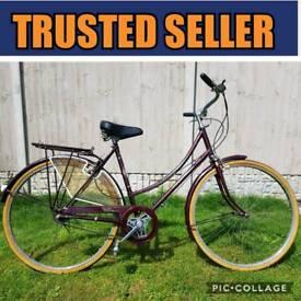FULLY WORKING. Vintage Raleigh Bike.