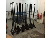 RETAIL DISPLAY LADDERS FOR DUMMIES CLOTHING 10x