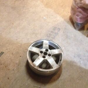 4 cobalt rims and a truck for sale
