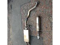 Mk4 golf stainless steel exhaust