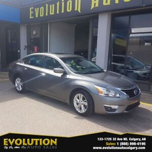 2015 Nissan Altima ALTIMA 2.5 SV NAVI S/ROOF BLUETOOTH FINANCE