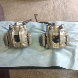 BMW e46 330ci brake calipers and carriers