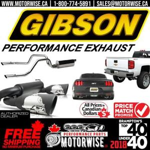 Gibson Performance Exhaust Systems | Free Fast Shipping Canada Wide | Order Today at www.motorwise.ca