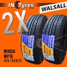 2x New 185/65R15 High Performance Budget Tyres Two Fitting Available x2 Walsall
