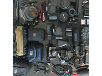 Full Professional Camera Kit - Canon 7D, EOS700D, Manfrotto, Sigma, Tamron, Rode, Dicapac, G5, Grip