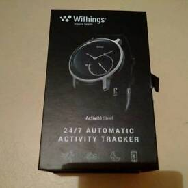 withings activite steel watch activity tracker