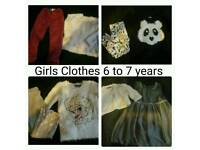 Girls Clothes Bundle 6 to 7 years