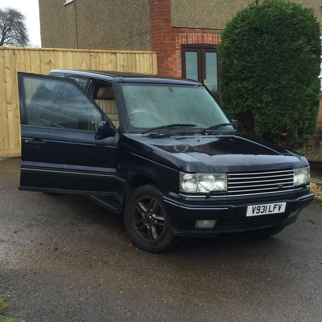 Range Rover P38 4 6 V8 Electrical Fault In Downend  Black