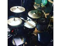 Drum and rehearshal/recording room for rent + lessons available!