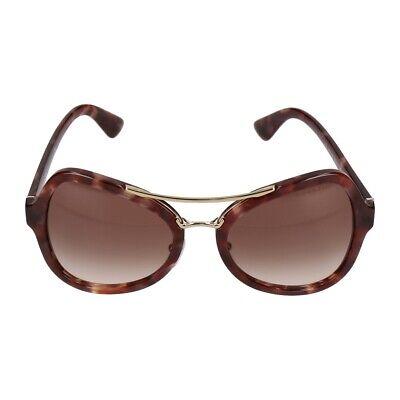 Prada Sonnenbrille SPR18S UE0-0A6 brown tortoise gold/brown gradient