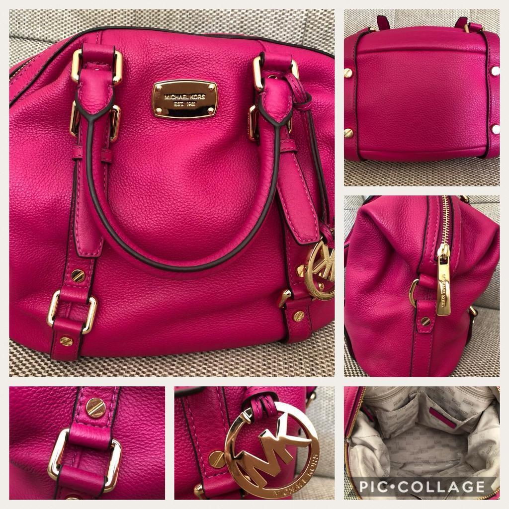 Michael Kors Fuschia Pink Handbag