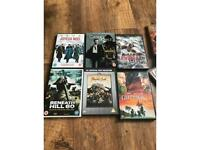 War films , modern and classics about 100