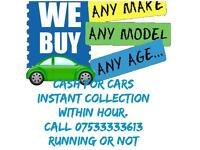 Cars wanted instant payment £50 to £5000