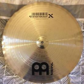 "New Unused Meinl Thomas Lang 18"" Crash Cymbal"