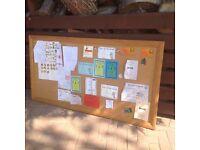 Oak Framed Notice Board