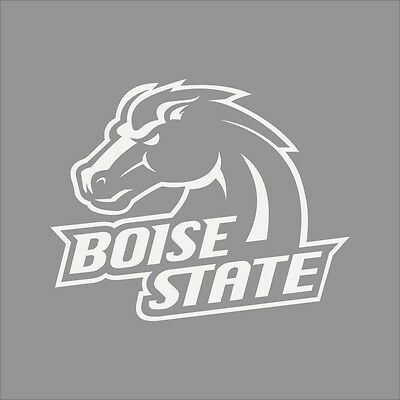 Boise State Broncos College Logo 1C Vinyl Decal Sticker Car Window Wall