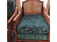 Bergere sofa & armchairs