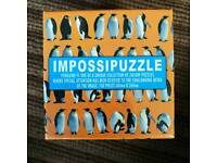 Penguin themed Impossipuzzle jigsaw puzzle