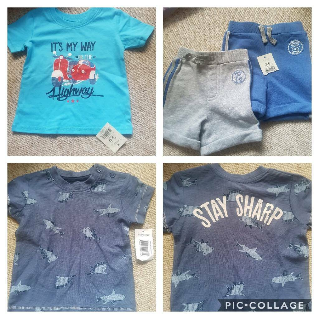 9f57bcdadf74d Baby boy summer clothes brand new with tags bundle 3-6 months