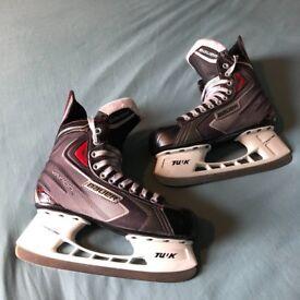 Bauer Vapour X40 Ice Skates Size 7.5 Good Condition