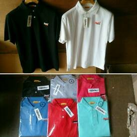 Mens superdry polo's