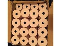 job lot 36x40mm MACHINE TILL CREDIT CARD,PDQ THERMAL PAPER ROLLS CASH REGISTER RECEIPT