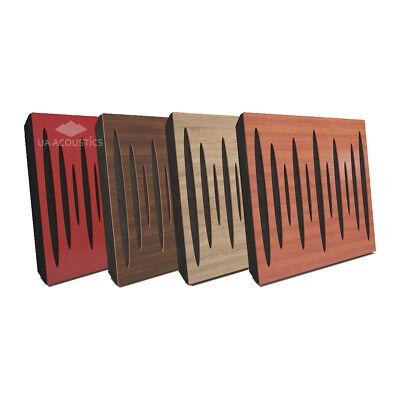 "2pcs 50*50*5cm Sound Absorption-Diffuse Acoustic Panel ""Pulsar"" (laminated wood)"