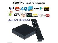 NEW Android 5.1 OctaCore 2GB+16GB Kodi Bluetooth WIFI HDMI 1080P Smart TV BOX UK