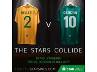 Star Sixes Tickets – Evening Session – Quarter-Finals - 15 July 2017 Great seats Tier 1 Block 110