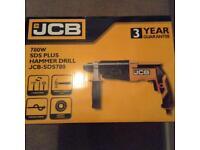 Brand new JCB hammer drill