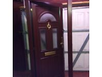 UPVC front door frame & keys
