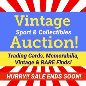 RARE SPORTS HOCKEY MEMORABILIA! Bobbleheads, COA's, Helmets, Sticks, Stadium Finds, Art, Autographs, Leafs, Red Wings