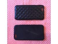 2 Black iPhone 6 cases