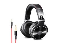Over Ear Headphones,Studio DJ Headphones for Monitoring, Adapter Free, Noise Isolating Wired Headset