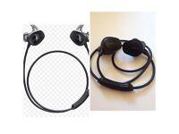 Brand new Bose sound sport Bluetooth wireless in-ear headphones black balanced audio