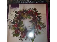 Large Christmas Wreath - approx 60cm - New