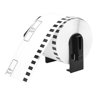 20 Roll Dk2205 Continuou Label W Frame For Brother Ql-500 Ql-550 Ql-570 Printer