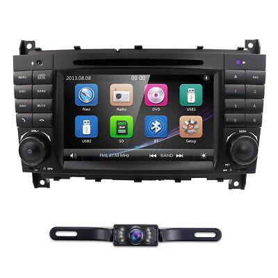 Mercedes Benz C/CLK KLASSE W203 W209 Autoradio DVD GPS RDS BT Navi VMCD DAB+