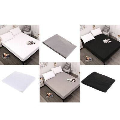 18 INCH DEEP FITTED SHEET ANTI MITE MATTRESS SLIPCOVER TWIN FULL QUEEN KING