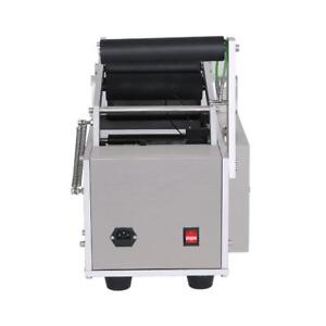 Semi-Automatic Round Bottle Labeling Machine Labeler - BRAND NEW - FREE SHIPPING