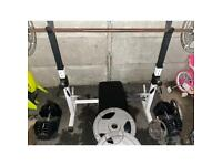 Adjustable Squat / bench rack