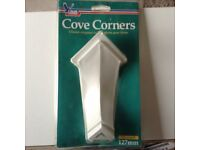 Decorative Cove Corners 127 Mm By Blue Hawk 1 Pair External Angles