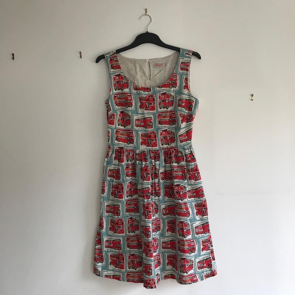 cath kidston size 10 london bus printed dress in ecclesfield