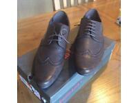 Emilio Luca Men's Suit Shoes - Brown - Size 9