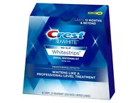 Crest 3D White Strips Unopened Box (40 strips/20 pouches)