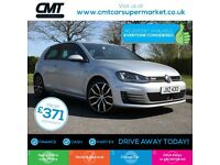 Volkswagen Golf 2.0 TDI BlueMotion Tech GTD Hatchback 3dr Good / Bad Credit C...