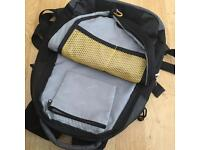 Laptop or Leisure Canvas Bag - Black & Grey - Good Condition